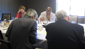 Photo taken at conference of attendees