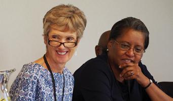 Diane Bosse (NY), Hon. Phyllis Thompson (DC)