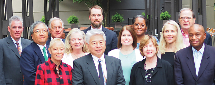 Group photo of NCBE Board members, see caption for names