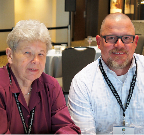 Photo taken at conference Suzanne Schmitz, Ty Perry (both IL)