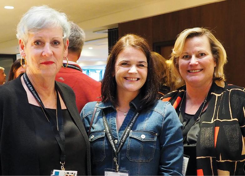 Photo taken at conference Hon. Maureen O'Connor, Gina Palmer (both OH), Hon. Beth Walker (WV)