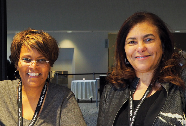 Photo taken at conference Almo Carter (DC), Hon. Denise Owens (MS)