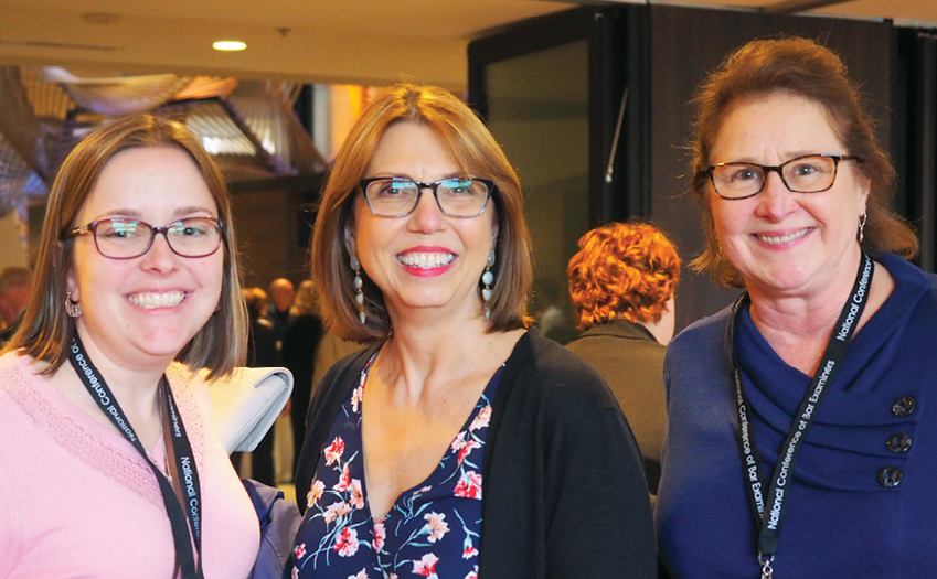 Photo taken at conference Melissa Hansen (ME), Sherry Hieber (NH), Hon. Bobbie Hantz Marconi (NH)