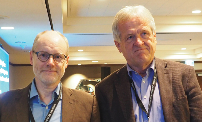 Photo taken at conference Paul Maharg, Alan Treleaven (both Canada)