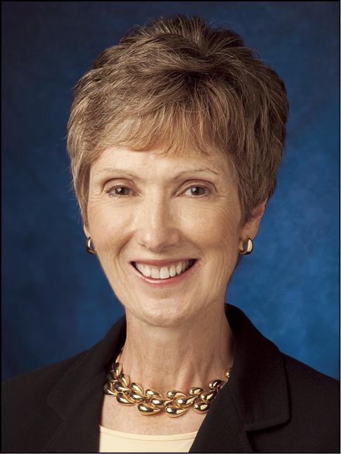 Portrait photo of Diane F Bosse
