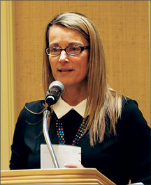 Photo taken at conference of Kathleen Harrington