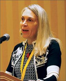 Photo taken at conference of Judy Gundersen
