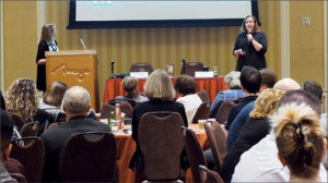 Photo taken at conference of Sophie Martin and Sherry Hieber