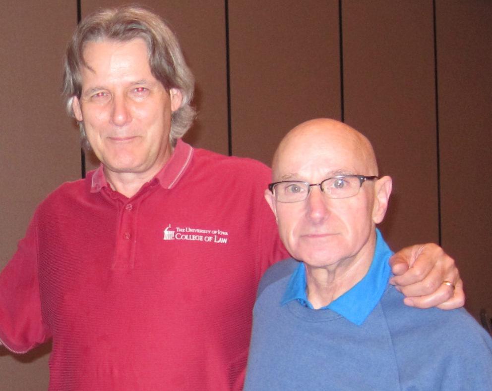 Photo taken at conference of Jon Carlson and Shelly Kurtz