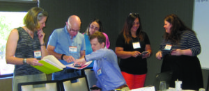 Photo taken at conference NCBE Staff and facilitator