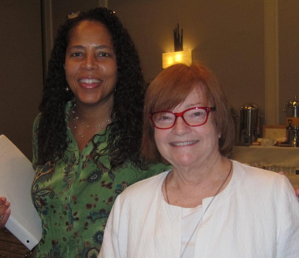 Facilitators Adisa Harrington and Catherine Klein