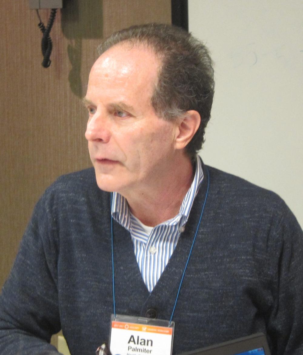 Photo taken at conference of Alan Palmiter